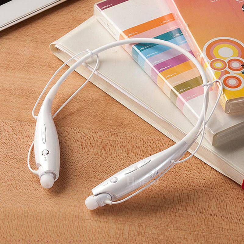 Hnew 无线颈挂式蓝牙耳机 运动挂颈 跑步运动耳机手机通用耳机