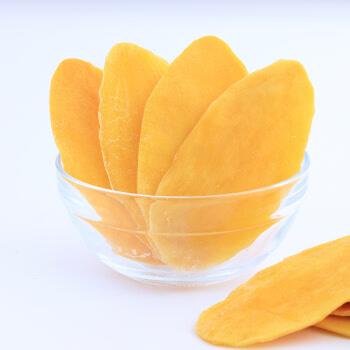 三只松鼠芒果干蜜饯果干芒果片休闲零食办公室小吃果脯水果干116g/袋